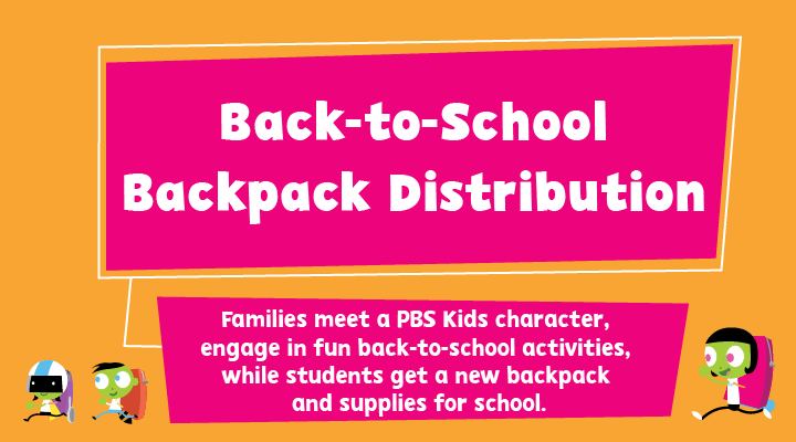 Back-to-School Backpack Distribution